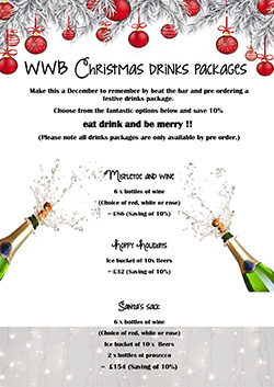 DRINKS PACKAGES CHRISTMAS 2018