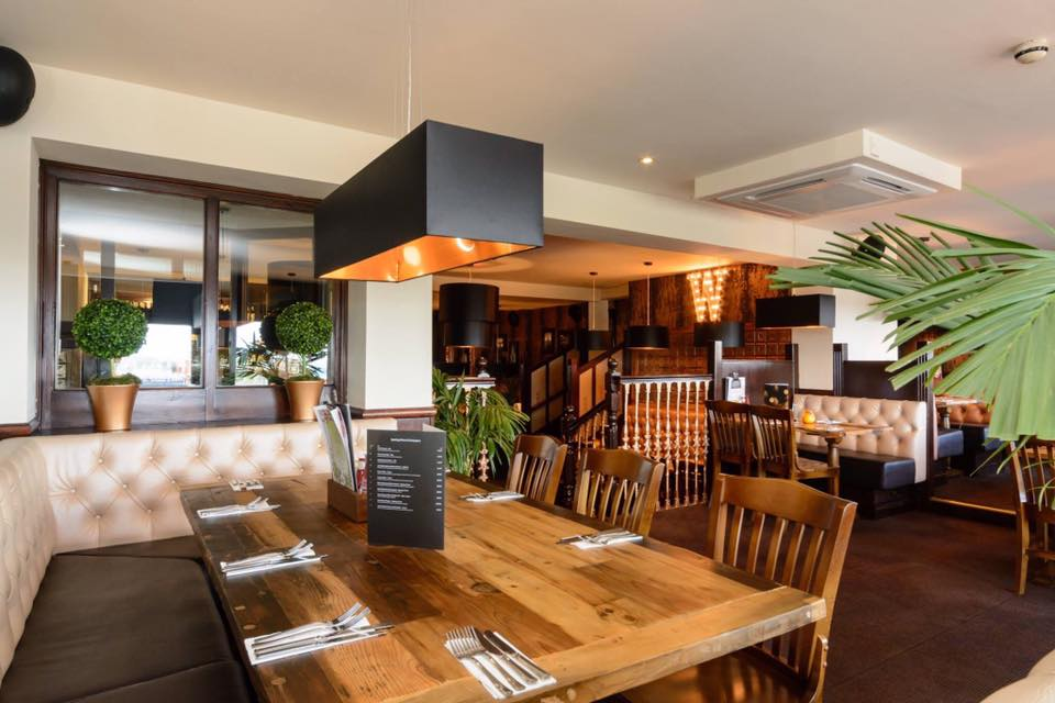 Large Capacity Upstairs Restaurant, ideal for parties and large groups